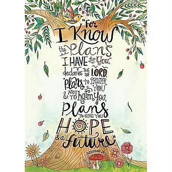 Jeremiah 29:11 Rejoice Inspire U Poster