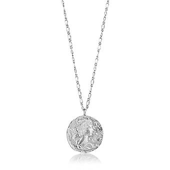 Ania Haie Sterling Silver Rhodium Plated Roman Empress Necklace N009-01H