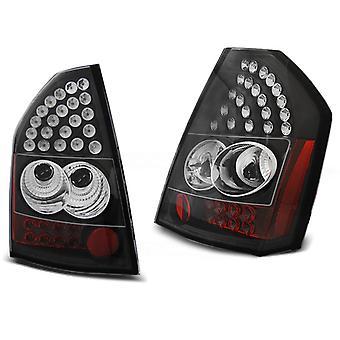 Hinten LIGHTS CHRYSLER 300C/300 09-10 SCHWARZ LED