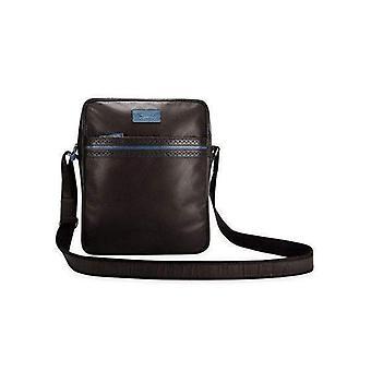 Bigglesworth black messenger bag