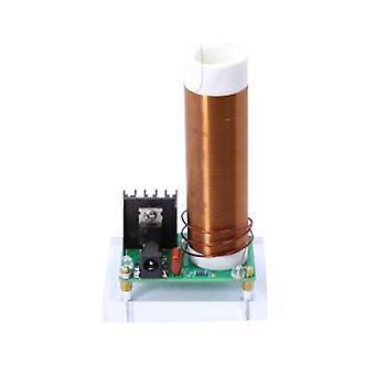 24V 15W مصغرة الموسيقى تسلا لفائف وحدة DIY مجموعات البلازما مكبر الصوت تسلا الإرسال اللاسلكي