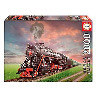 Puzzle Train Educa (2000 adet)