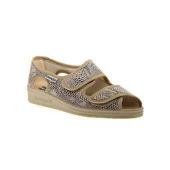 Emanuela 667 beige slipper shoes