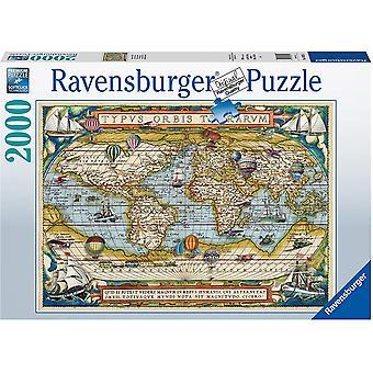 Ravensburger Around the World 2000 Stuk Legpuzzel