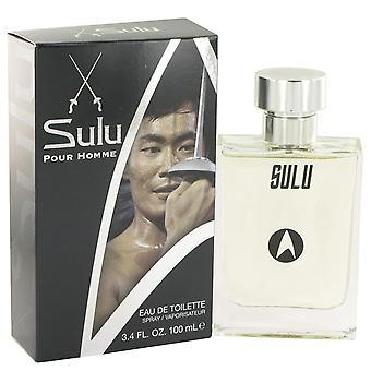 Star Trek Sulu Eau De Toilette Spray By Star Trek 3.4 oz Eau De Toilette Spray