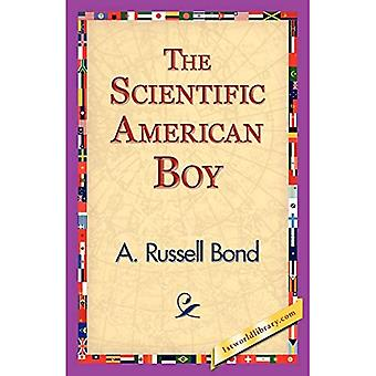 Garçon américain scientifique