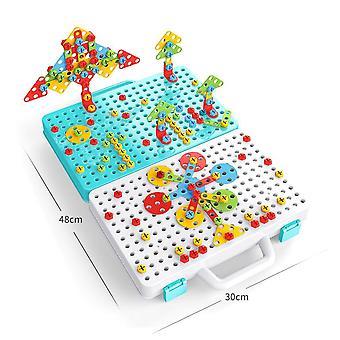 466 Sets Children Screwing Toy