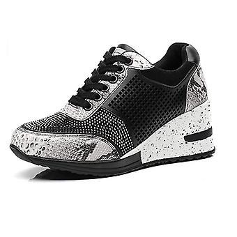 Vrouwen hoogte toenemende wandelen jogging sneakers