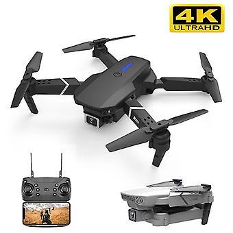 E525 pro rc quadcopter profissional hinder undvika drone dubbel kamera 1080p 4k fast höjd mini dron helikopter leksak