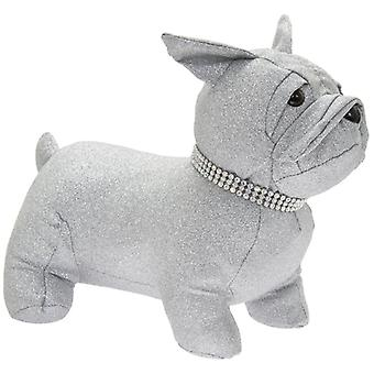Silver Bling French Bulldog Doorstop Tekijä Lesser & Pavey