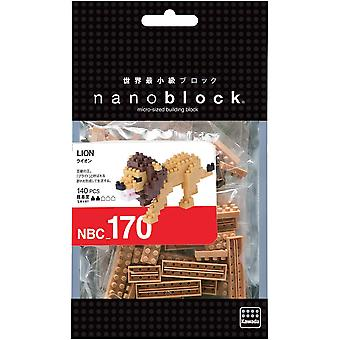 Nanoblock Mini -kokoelma - Lion Building Set