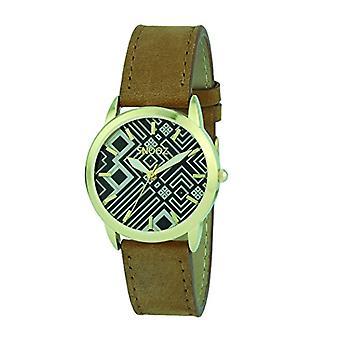 Snooz Analog Quartz Watch Woman with Leather Strap Spa1039-83