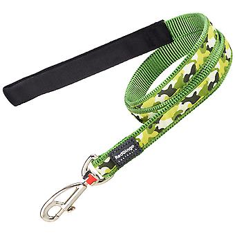 Red Dingo Style Strap Camouflage Green (Dogs , Collars, Leads and Harnesses , Leads)