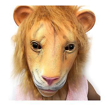 Lions huvudbonad. Jul påskfest djur huvudbonad