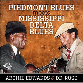 Piedmont Blues Meets Mississippi Delta Blues [CD] USA import