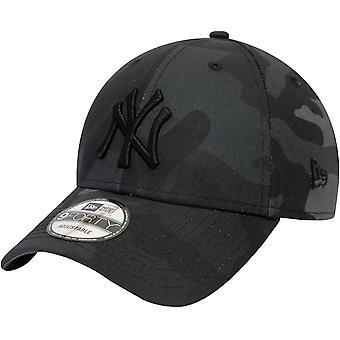 ניו עידן נוער ניו יורק יאנקיז מתכוונן 9Forty כובע כובע - גריי קאמו - 6-12 Yrs