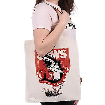 Jaws Fire Tote Bag