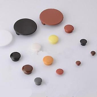 nouvelle quincaillerie brune de 10 mm trous de meubles couvre vis de protection sm35898