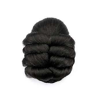 Braided Women Hair Bun Synthetic Hair Bun Chignon Hairpiece