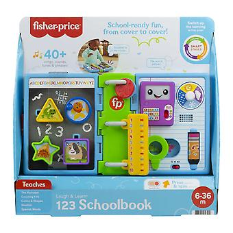 Fisher-Price Laugh & Learn 123 Schoolbook Activity Toy