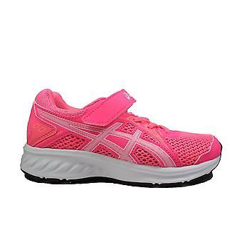 Asics Jolt 2 PS Hot Pink/White Mesh Girls Lace Up Buty sportowe