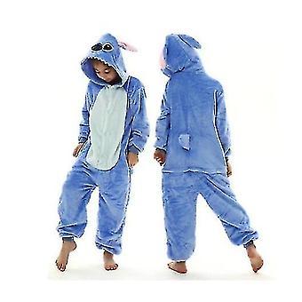 Unicorn Stitch Kigurumi Kids Kinderen Pyjama Winter Flanel Warme Nachtkleding (100cm)