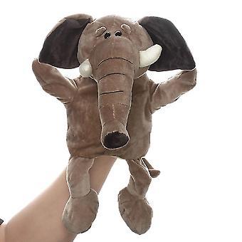 Elefant hånddukker dyre legetøj til fantasifuld leg, historiefortælling, undervisning, rolleleg