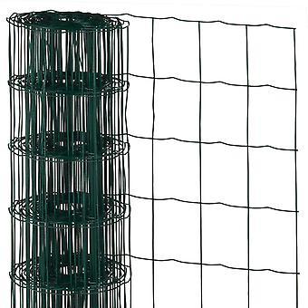 Natur MeshTråd Rektangulär 0,8x10 m Plastbelagt stål