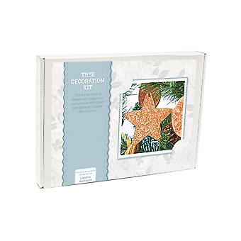 Copper Metal Embossing Tree Decoration Craft Kit - Boxed Gift