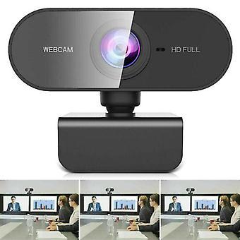 Webcam met microfoon Full HD 1080P streaming camera voor Windows MAC laptops