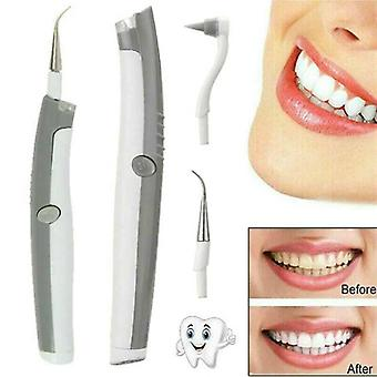 Electric Ultrasonic Tooth Cleaner Dental Stain Polisher Plaque Tartar Remover US