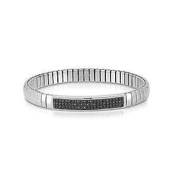 Nomination italia bracciale stretch nero glitter 043210_011