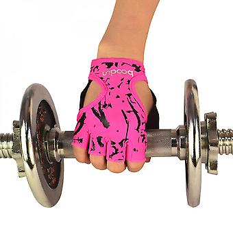 Women's Yoga Fitness Dumbbell Breathable Anti-skid Fluorescent Cycling Fitness Bicycle Fighting Gloves