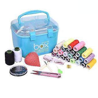 Швейный комплект Швейная коробка Набор для ручной стеганые швейные инструменты швейной вышивки