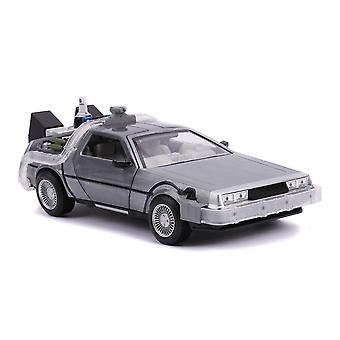 Retour vers le futur DeLorean (Future) Jouet moulé sous pression Time Machine Car, échelle 1:24