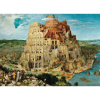 Eurographics The Tower of Babel,  Bruegel Jigsaw Puzzle (1000 Pieces)