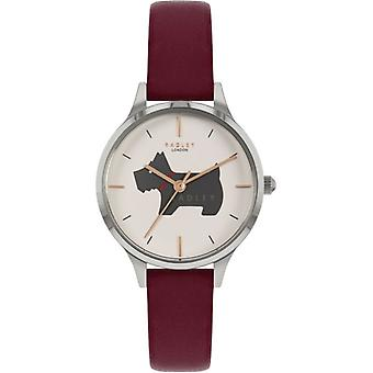 Radley Meridan Place Ry2973 White Dial Leather Strap Ladies Watch