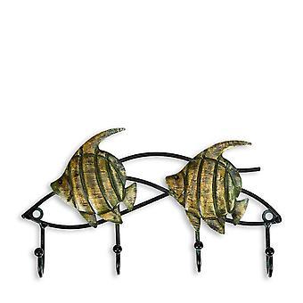 Wandhaken Metall Tier Figuren Eisen Kleiderbügel Home Decoration für Tasche Schlüsselhaken Organizer
