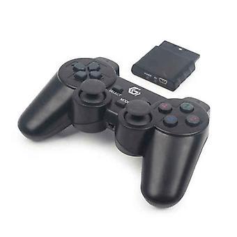 Wireless Gaming Controller GEMBIRD Dual Gamepad PC PS2 PS3 Black