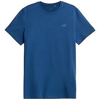 4F TSM352 NOSH4TSM352DENIM universal miesten t-paita