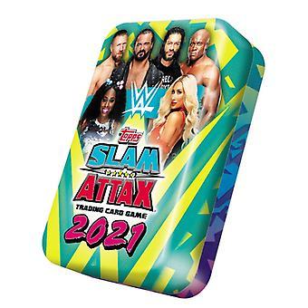 WWE Slam Attax 2021 Mega Collectors Tin