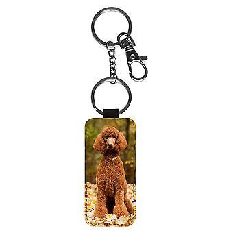 Hond Poedel sleutelhanger