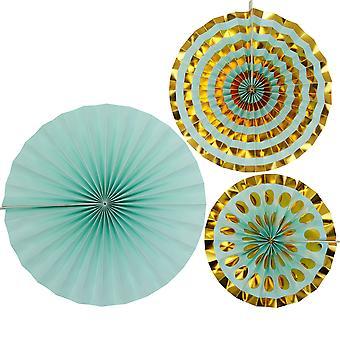 גלגלי שיניים - מנטה - 3 מארזים