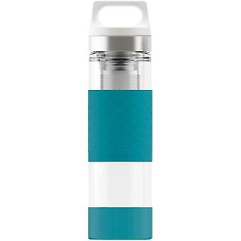 Sigg Hot and Cold Glass Aqua 0.4L Stainless Steel Drinking Bottle - 8555.7