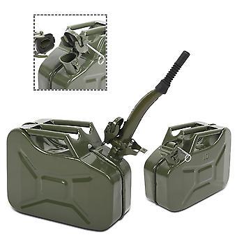 10l 0.8mm Benzin Speicher Fass Outdoor Metall Eimer für Automobil flüssiges Öl mit Rohr (uk nur bestellen)