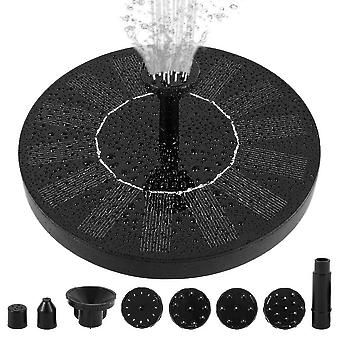 Solar Powered Floating Pump Water Fountain   Pool Garden Dcor
