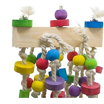 Parrot Toy, Bird Toy, Colorful Wooden Toy, Environmental Protection And Beautiful