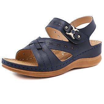kvinners sommer skinn pustende lett avslappet strand sandaler