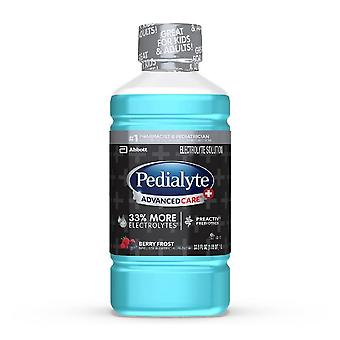 Pedialyte advancedcare plus electrolyte drink, berry frost, 33.8 oz