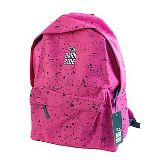Darkside Pink & Black Splatter Backpack